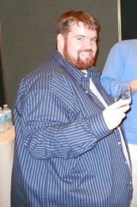 Back in 2009 I was still pretending I didn't have a problem. That shirt is a 5XLT and it wouldn't button.